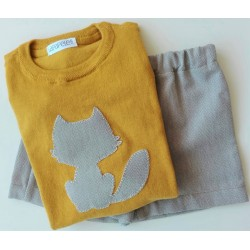 Conjunto Kid Jersey y Culotte/Pantalón