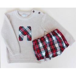 Conjunto Baby Jersey y Culotte/Pantalón