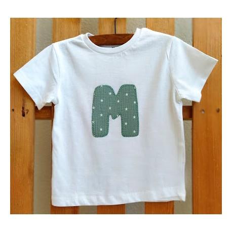 Camiseta con Inicial