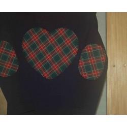 Camiseta Corazón Escocés