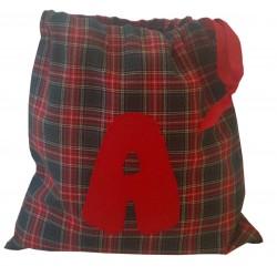 Bolsita Escocesa Roja