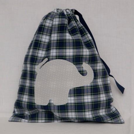 Bolsita Escocesa Elefante