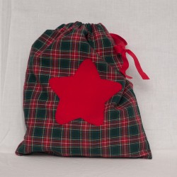 Bolsita Escocesa Estrella Roja