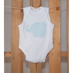 Body Elefante Azul