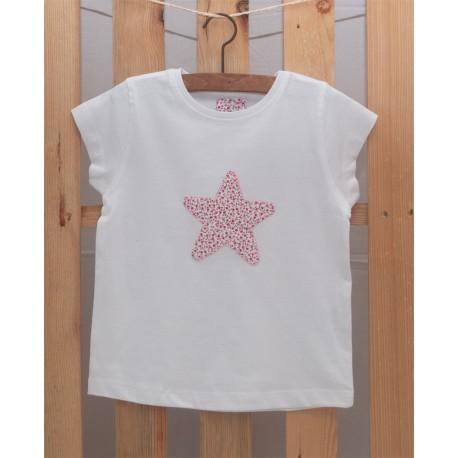 Camiseta Estrella Floral